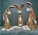 Stand-up rabbits -
